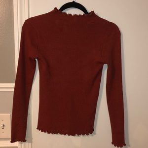 Princess Polly Mock Neck Top